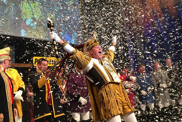 Aachener Karnevalsprinz Axel II.